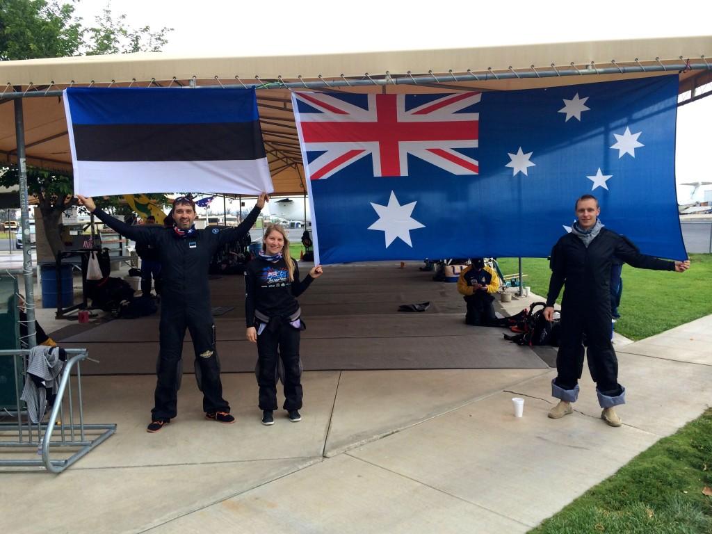 Austraalia rekord 2015 (Priit Võsu, Merlin Saareste, Andres Villemson)