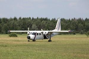 Eesti Langevarjuklubi endine lennuk, hüüdnimega Brita